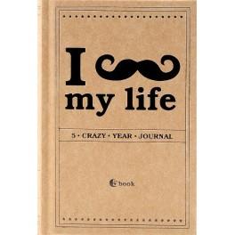 I *** My Life: 5 Crazy Year Journal. (подарочное издание)